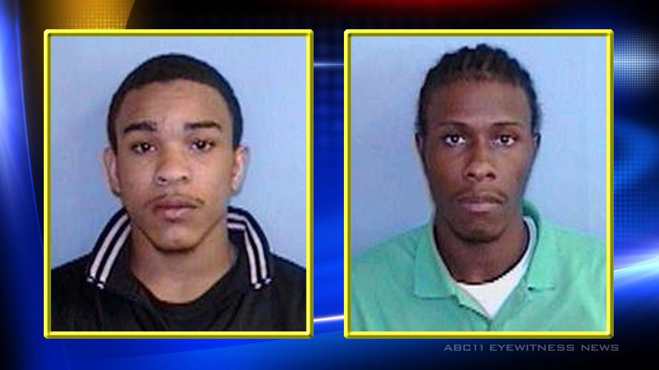 Jaylen McNair and Tracy Rashaud Floyd <span class=meta>(Images courtesy Chapel Hill Police Department)</span>