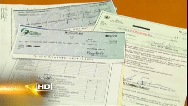 Consumer Alert: Fraudulent Checks