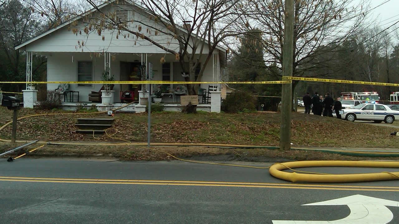 A woman died in a fire in her home Friday.