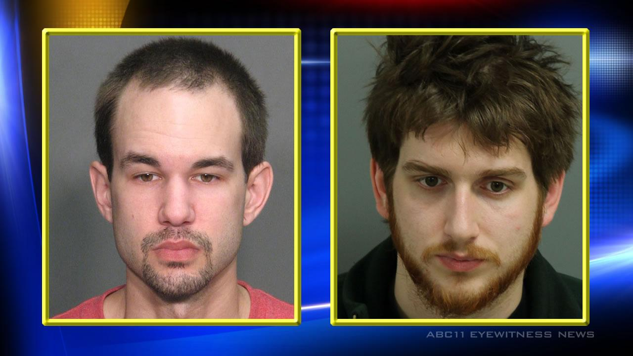 Brian Dylan Johnson (L), Nicolas Robert Losito (R) (Courtesy: Cary Police Dept.)