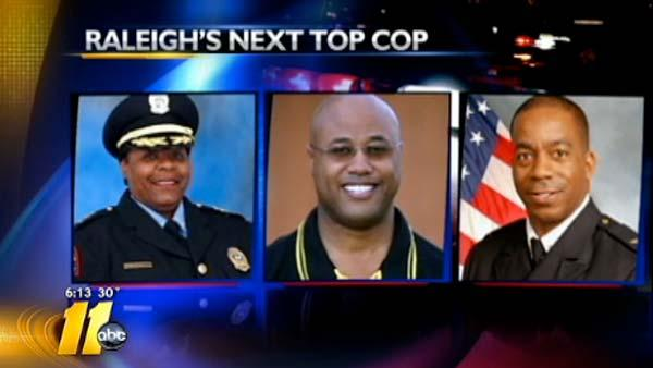 Raleigh police chief candidates meet the public