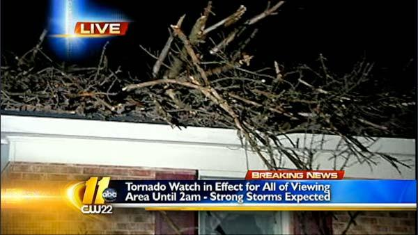 Area braces for possible severe weather