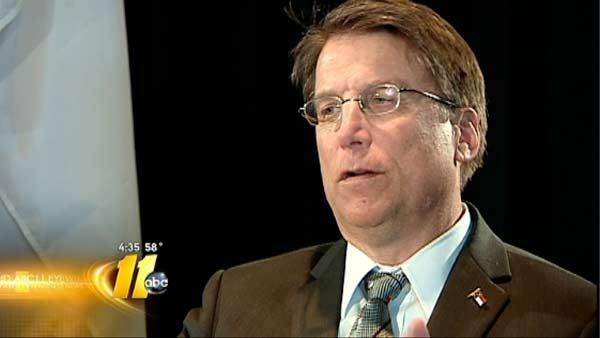 Does Gov. McCrory have conflict of interest?