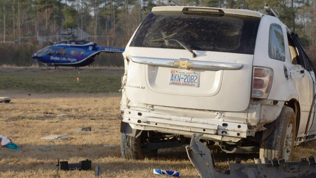 Moore County crash