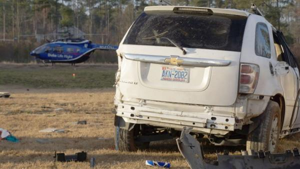 Child dies following Moore County accident