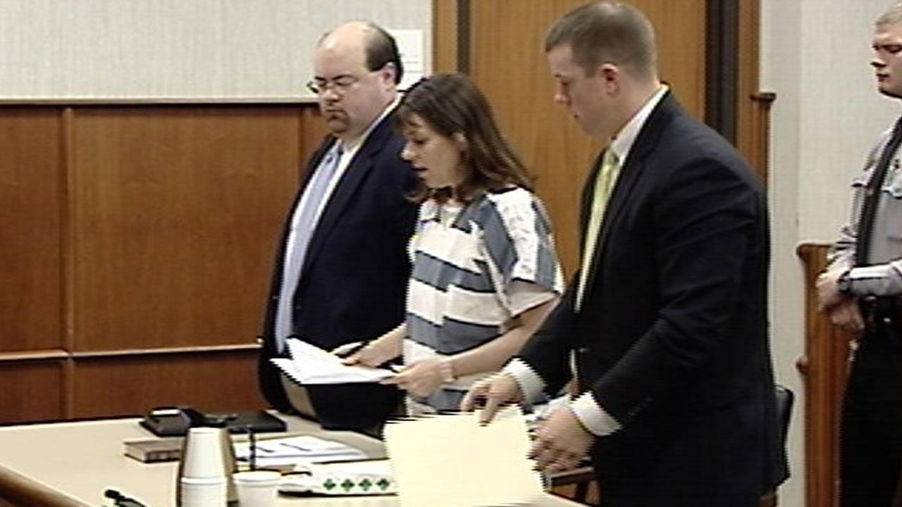 Camellia Brown in a 2008 court appearance.