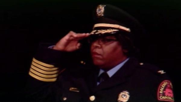 Raleigh police chief sworn in