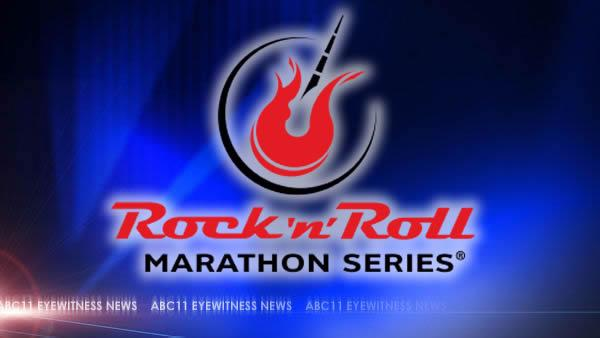 Raleigh to Rock 'N' Roll with marathon