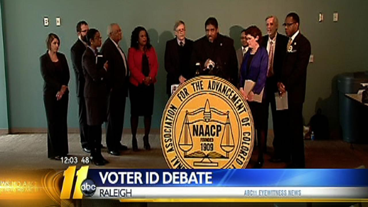 NAACP claims voter ID same as poll tax