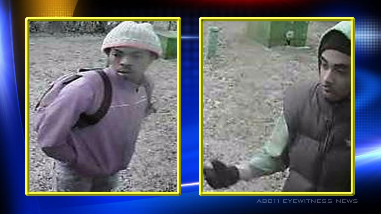 Police need assistance to identify burglary suspects