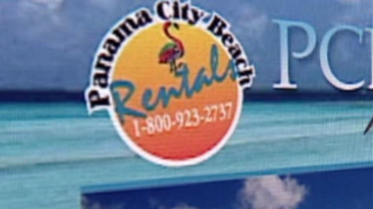 Panama City Beach Rentals website