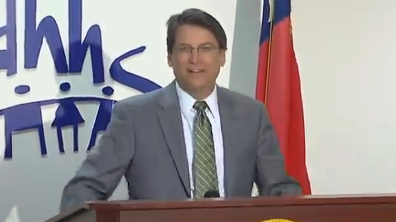 Governor McCrory announces his Medicaid reform plan