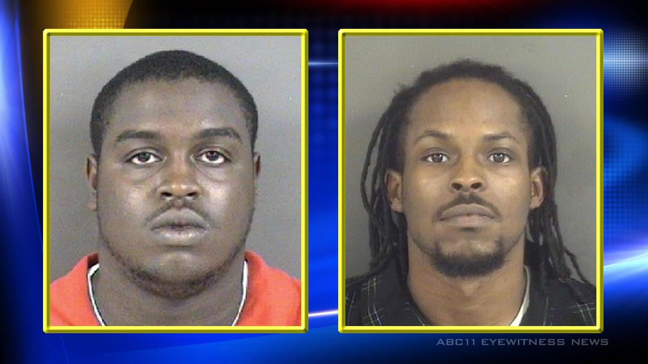 Derek Hair (L) and  Lamyer Campbell (R) are charged in connection with a home invasion that turned deadly.Fayetteville Police Department