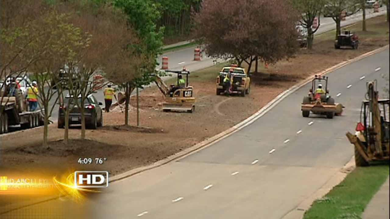 Cary Parkway reopens after culvert fire
