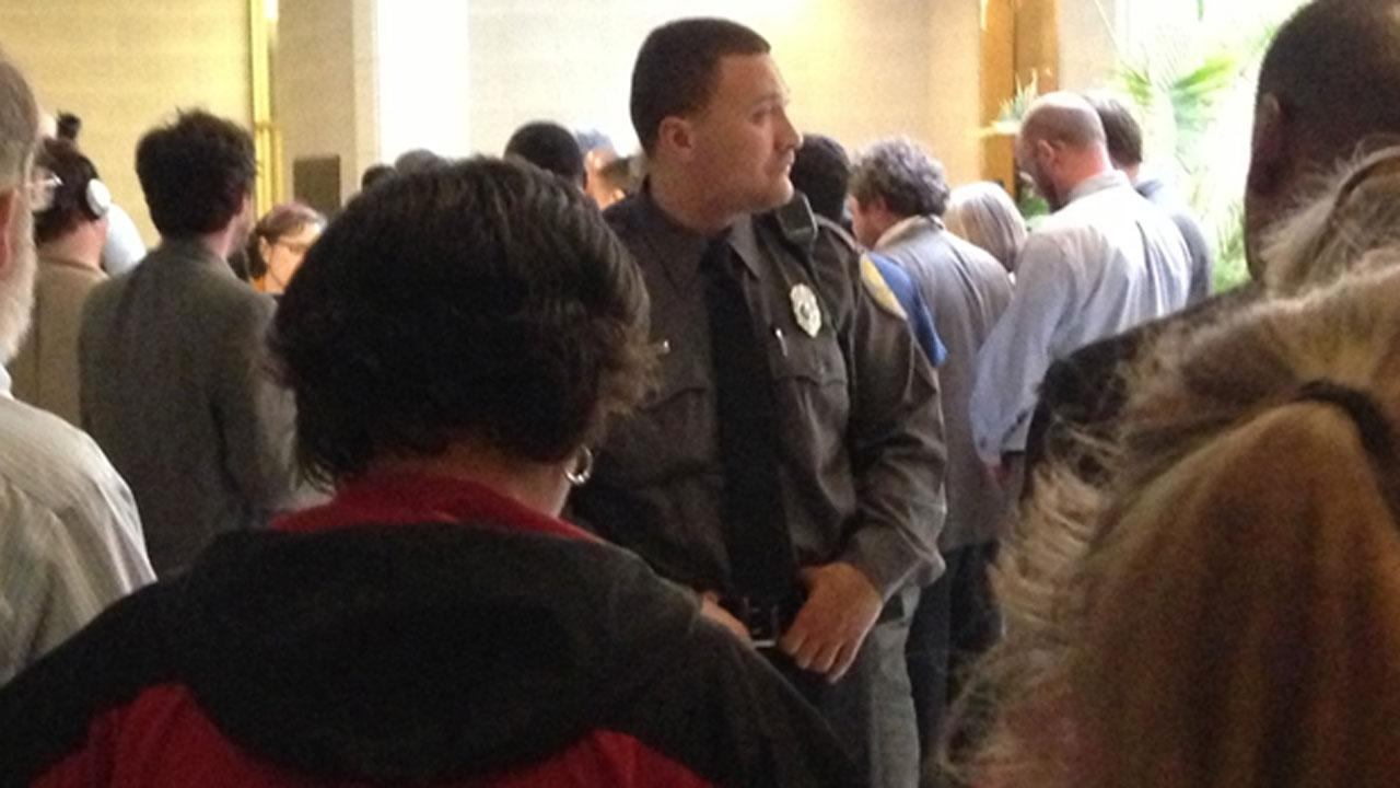 A protest of Republican policies at the North Carolina General Assembly ended Monday with the arrests of NC NAACP President William Barber and several other activists. <span class=meta>(ABC11 Reporter Angelica Alvarez)</span>