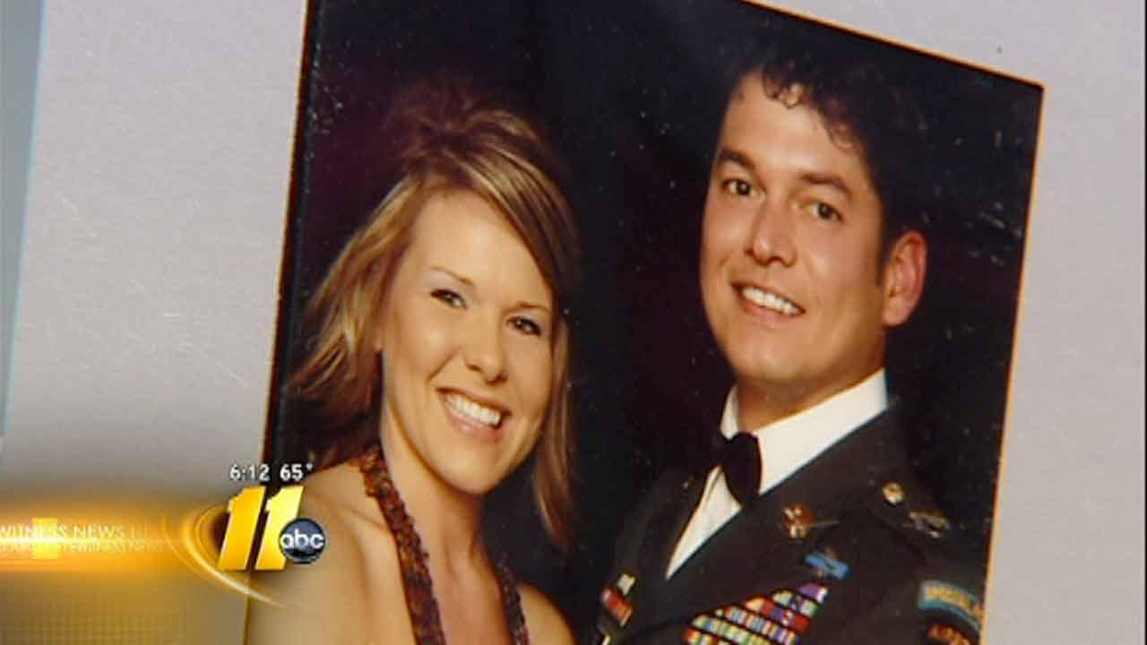 Sgt. Charles Reilly and wife Crystal