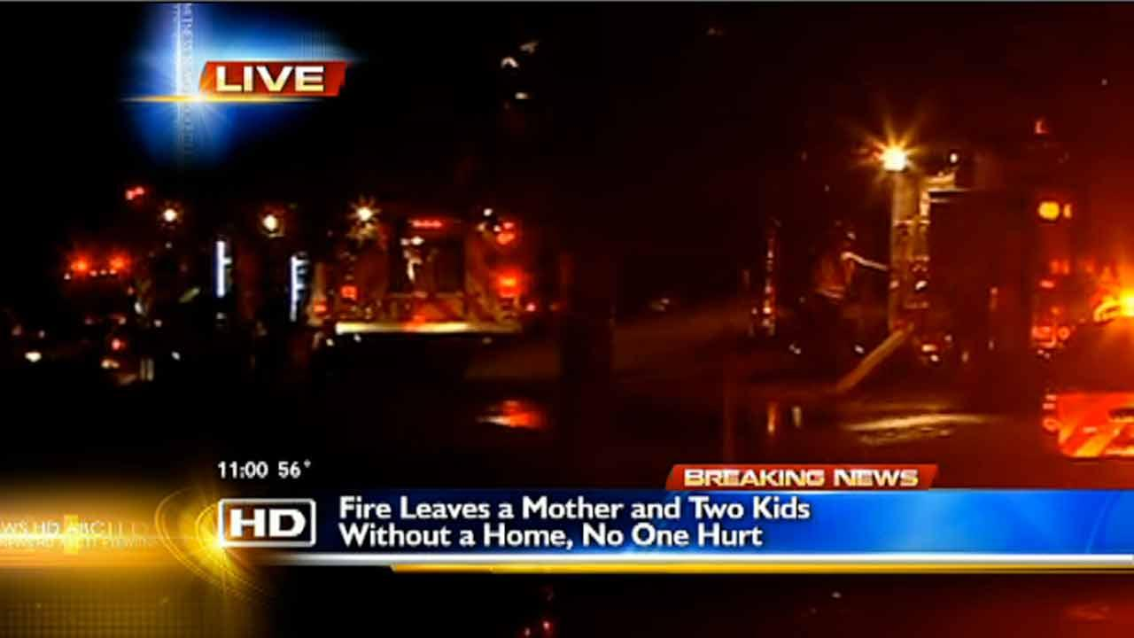 Fire destroys Fayetteville home
