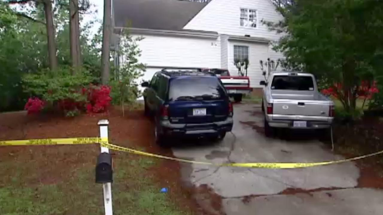 Police say Dottie Amtey strangled her husband Sharad in this home on Carbon Hill Court. <span class=meta>(Jim Schumacher)</span>
