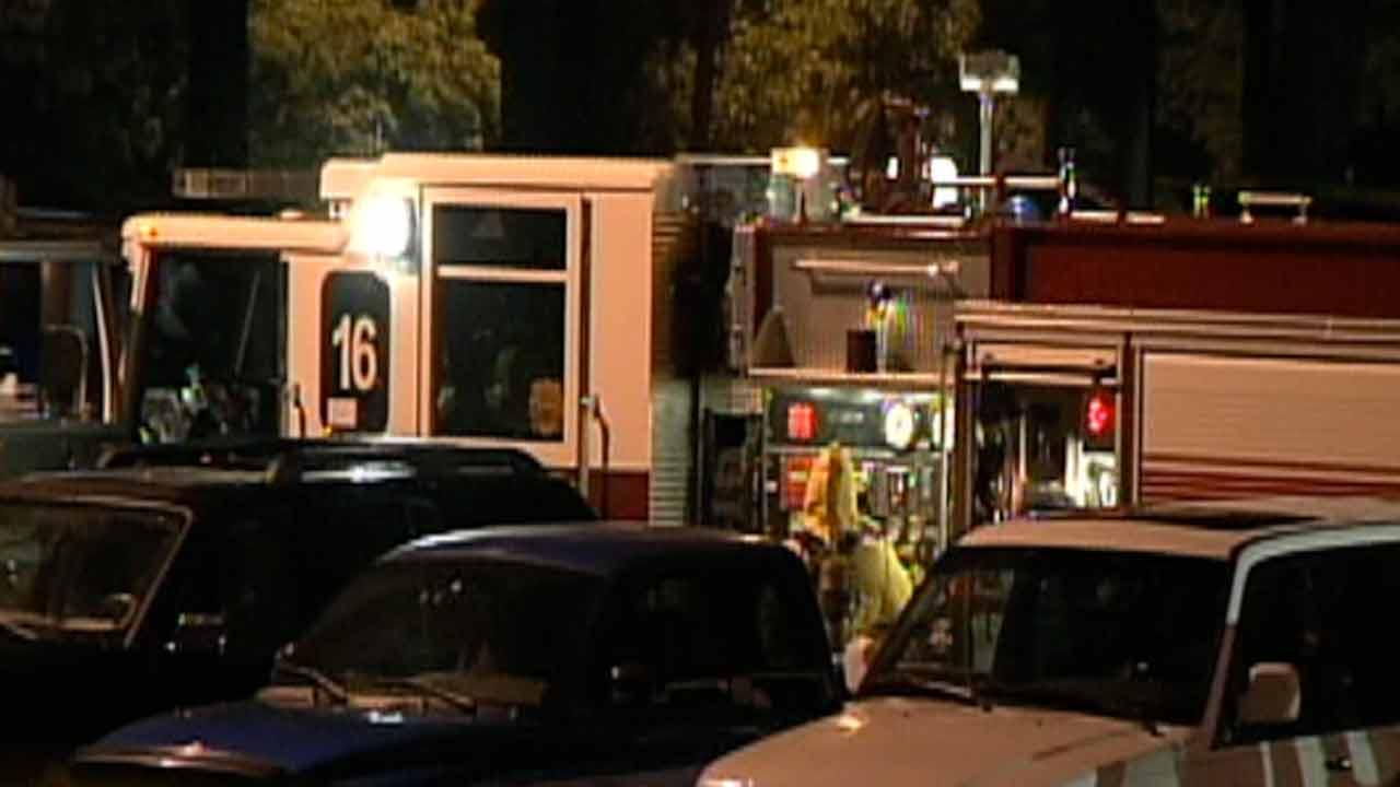 Hazmat situation at Raleigh apartment complex