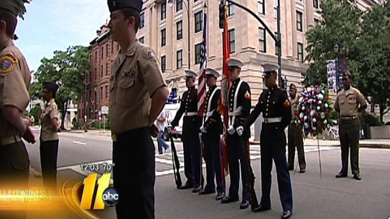 North Carolina marks Memorial Day