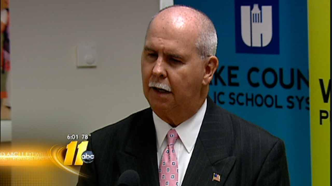 Wake County Schools Superintendent Dr. James Merrill
