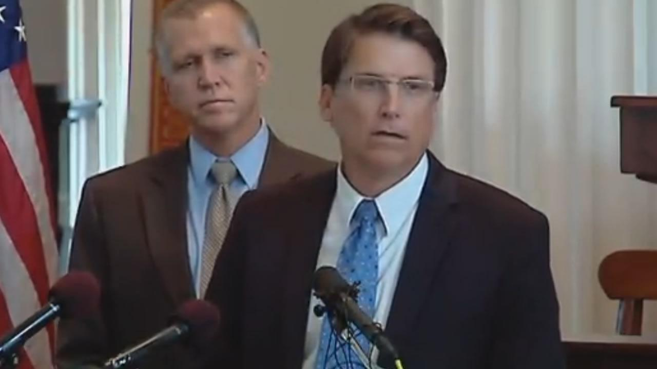 Governor Pat McCrory announces a new tax plan for North Carolina.