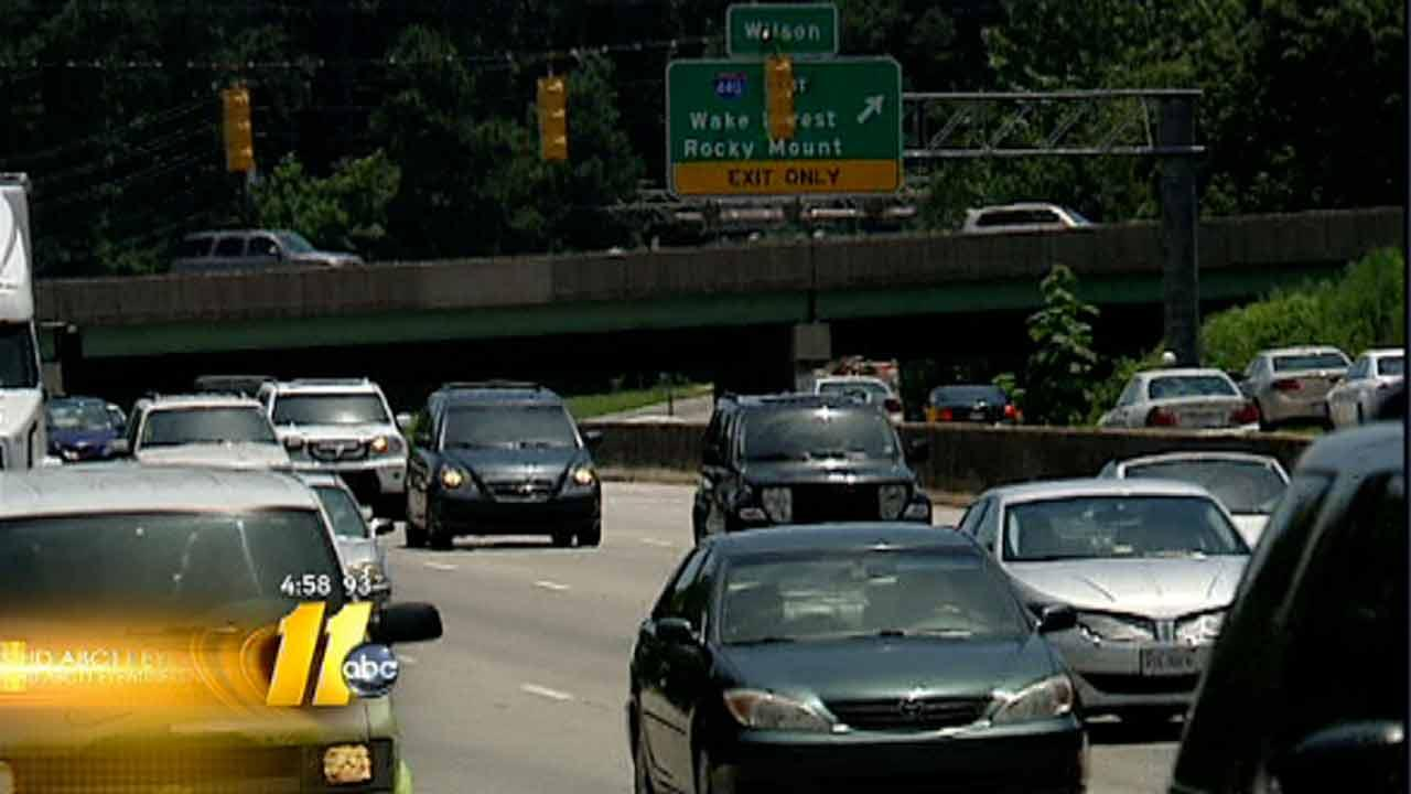 Traffic problems around Raleigh's Crabtree Valley Mall under study