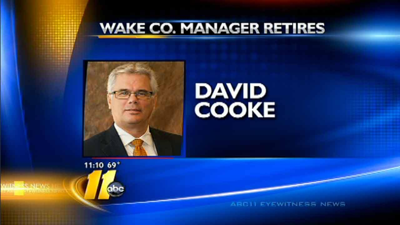 Wake County manager to retire