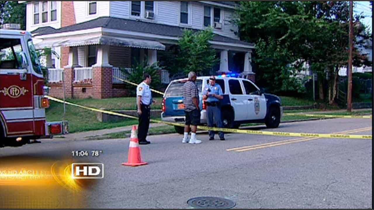 The shooting happened just before 7 p.m. Wednesday on Martin Street at Freeman Street.