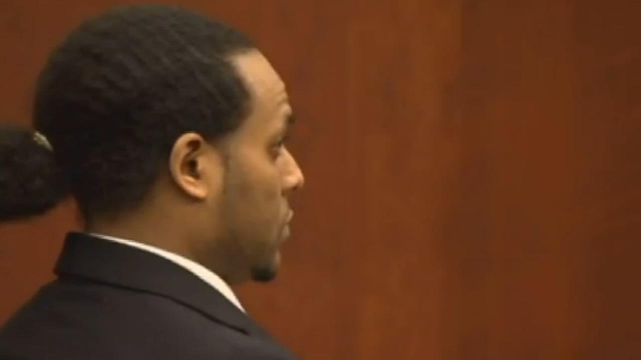 Samuel Gideon in court.