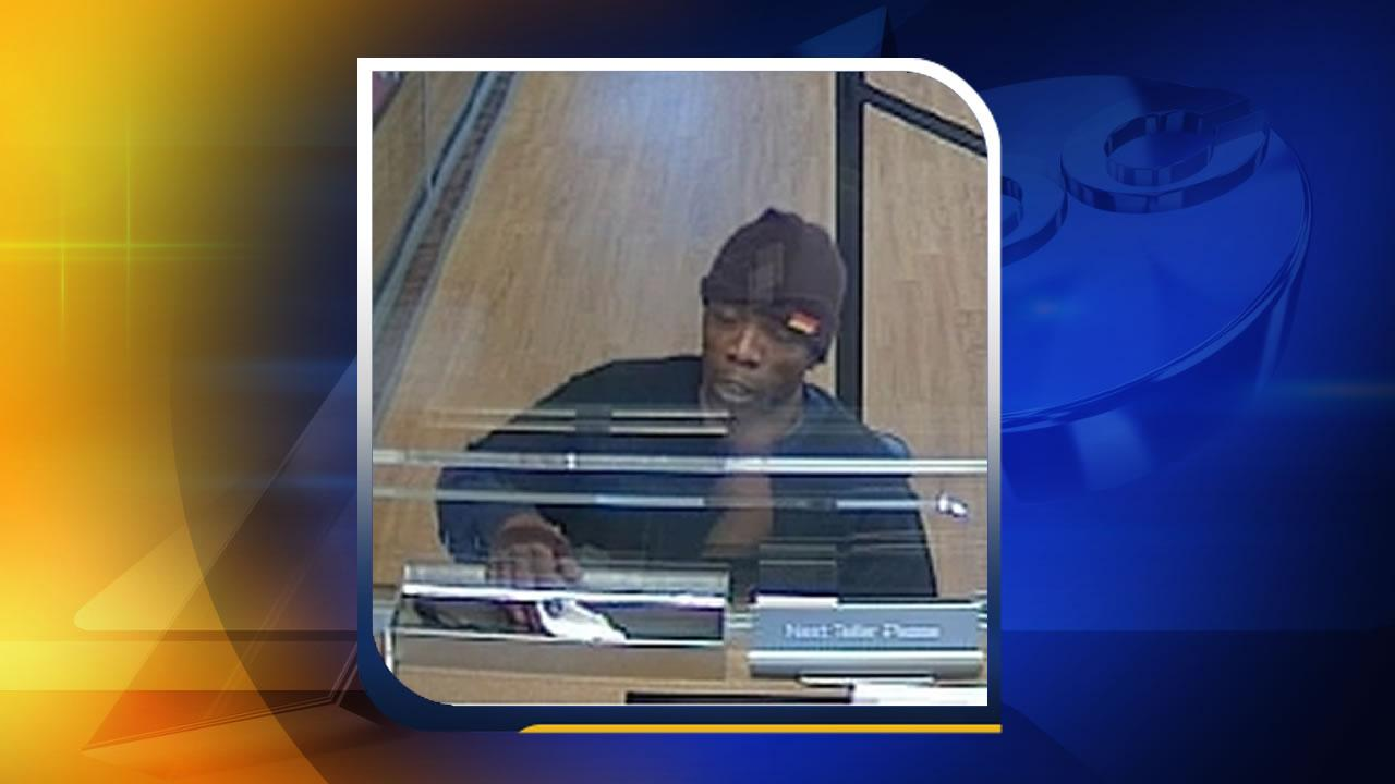 Police are looking for the man who walked into a Durham bank and demanded money from a teller Friday afternoon at a BB&T in Durham.