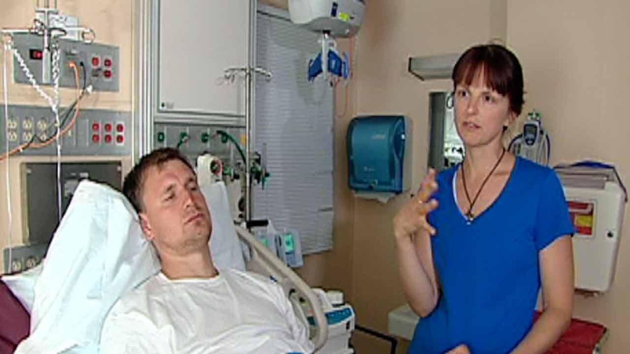 Dmitri Khorokhoria and Yuliana Kukharenja