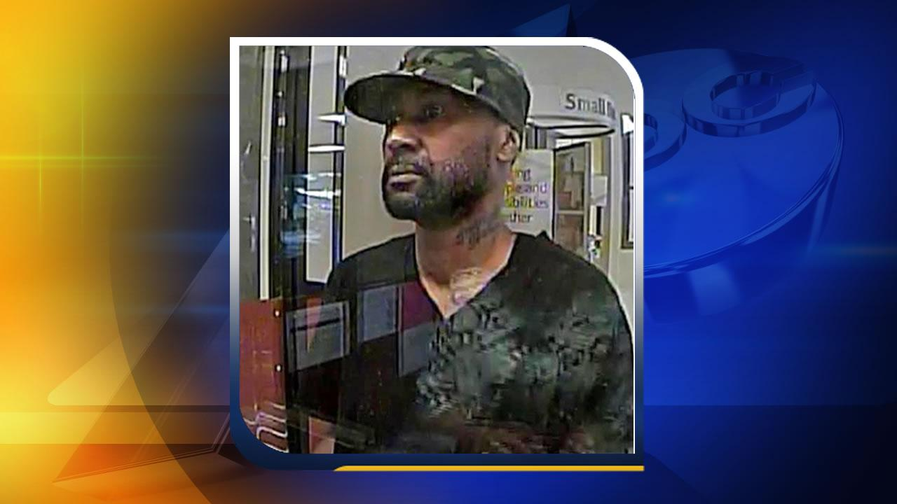 Raleigh attempted bank robbery suspect
