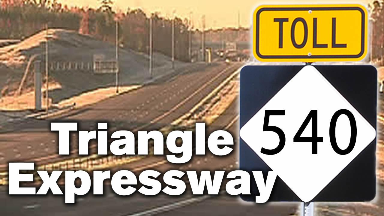 540 Triangle Expressway toll road