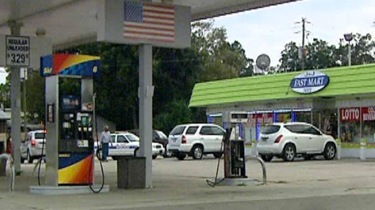 Fayetteville shooting scene on Bragg Boulevard