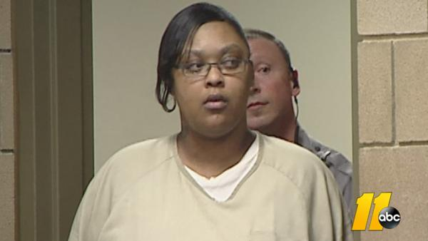 Antoinette Davis appears in court.