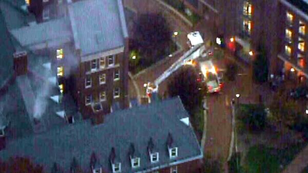 Fire damages UNC dorm, students displaced