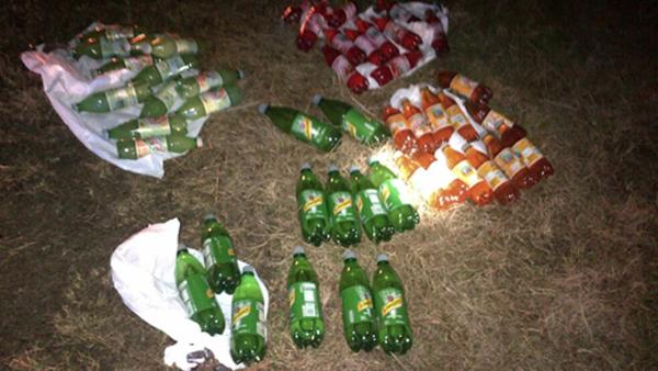 Deputies find 47 bottles filled with meth