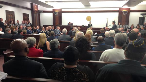 North Carolina veterans treatment court opens
