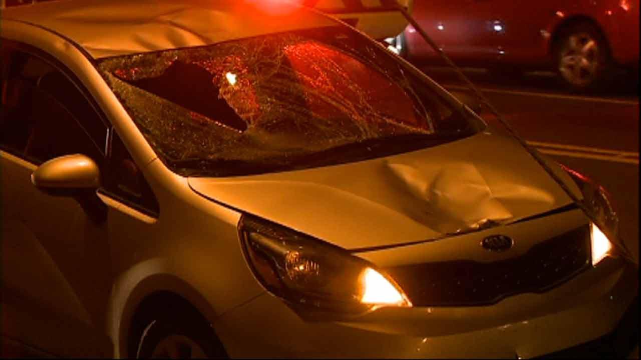 Pedestrian hit on Fayetteville Road in Durham.