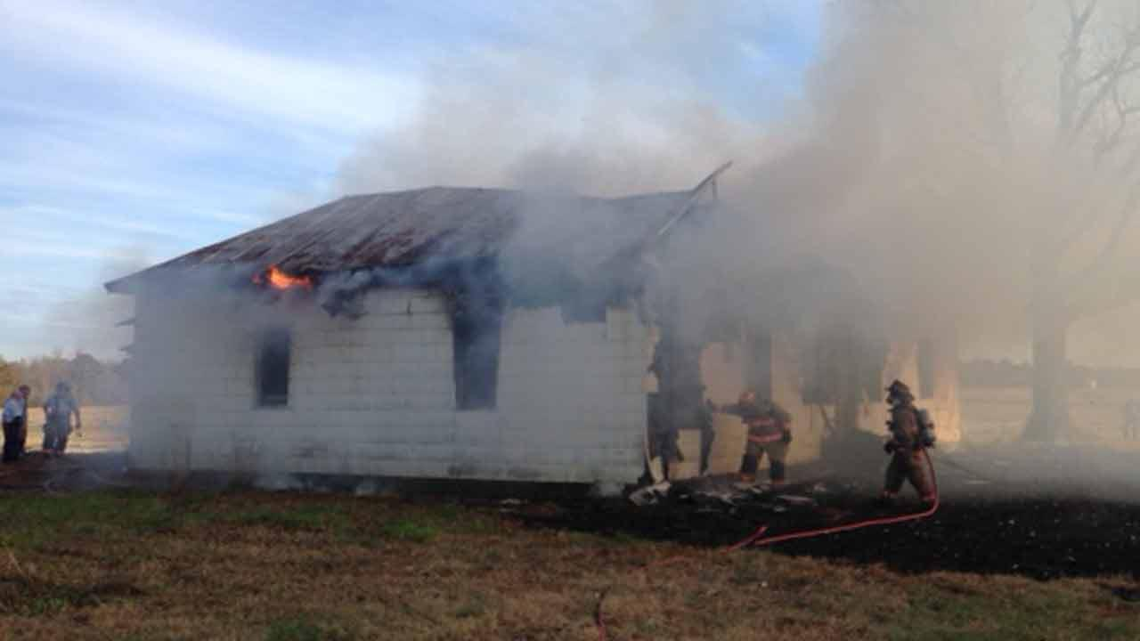 Fire struck a home in the 3000 block of N.C. Highway 96 near Selma.