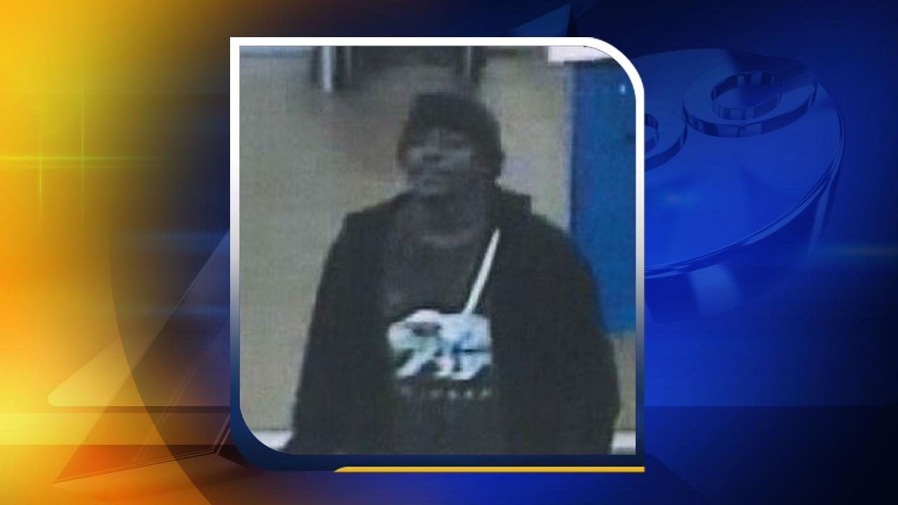 Apex Walmart theft suspect
