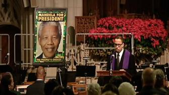 A memorial was held for Nelson Mandela at Duke Chapel.