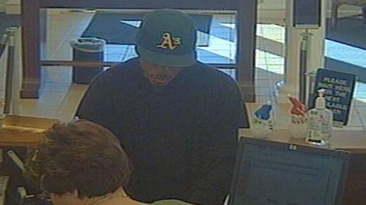 Fayetteville bank robbery suspect