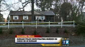Shooting on Cheek Road in Durham
