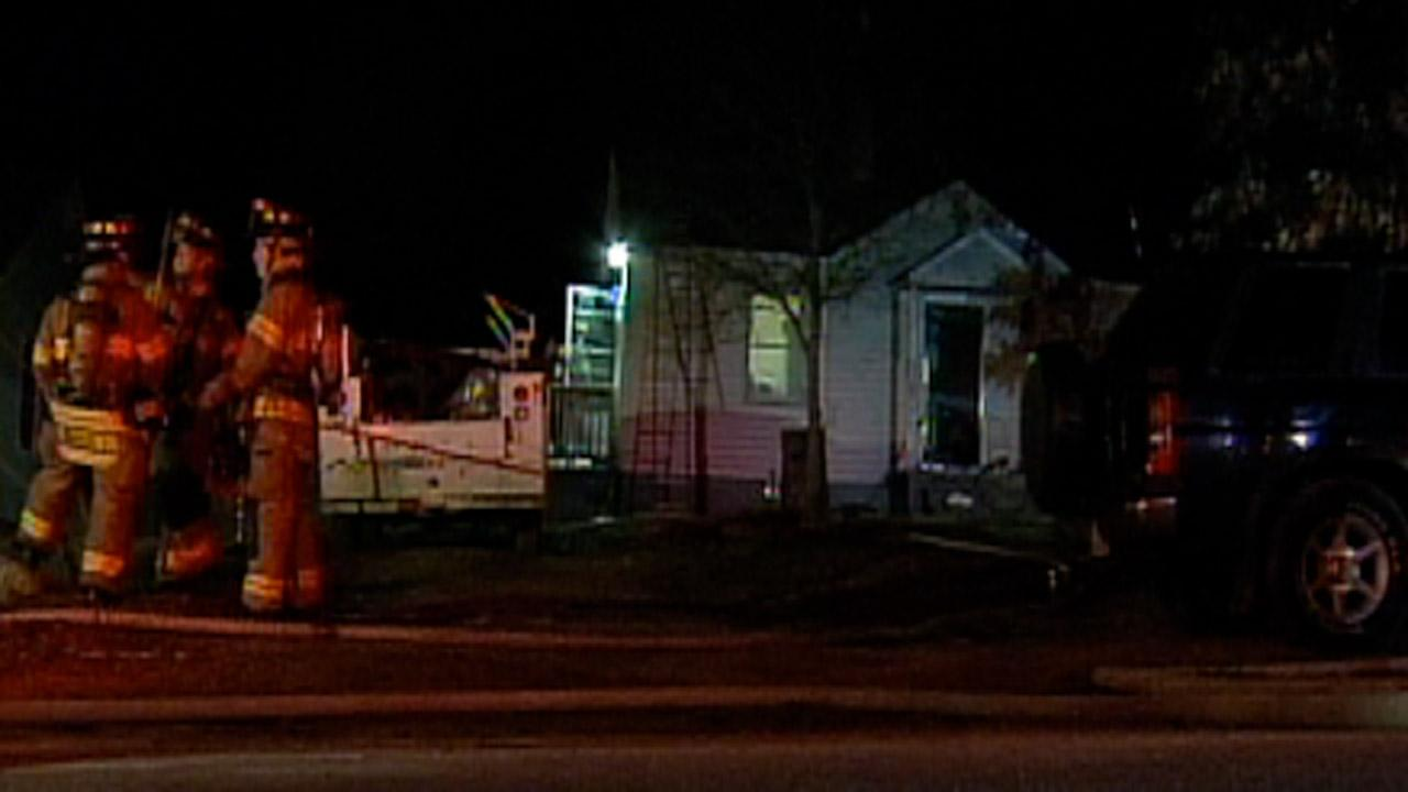 A fire hit this home on Granite Street in Raleigh on Christmas Day.
