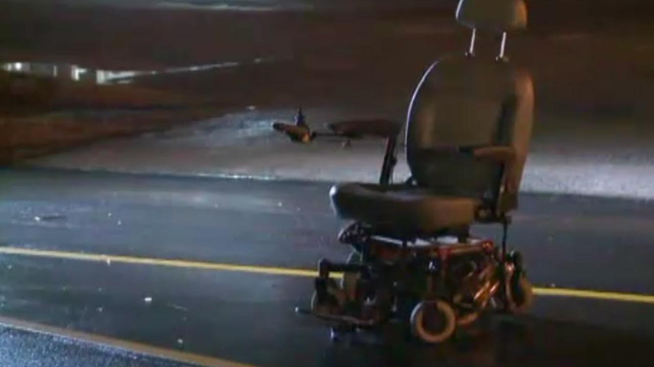 Man in wheelchair hit in Durham