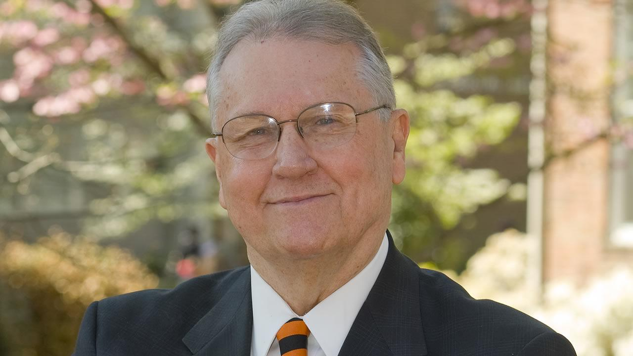 Campbell University President Jerry M. Wallace