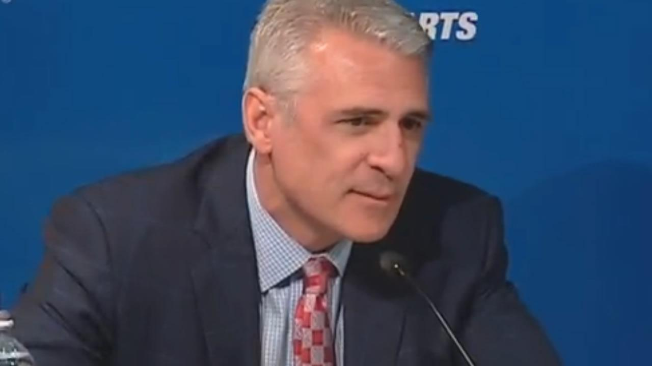 Carolina Hurricanes General Manager Ron Francis.