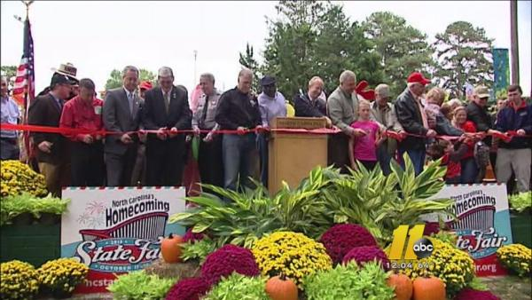 North Carolina State Fair officially opens